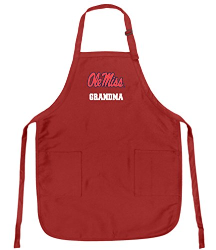 Broad Bay Deluxe Ole Miss Grandma Apron w/Pockets Barbecue Grilling Kitchen Cooking