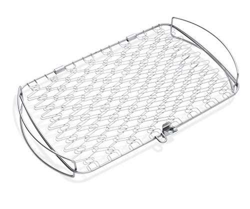 Weber 6471 Original Stainless Steel Fish Basket, Large ()