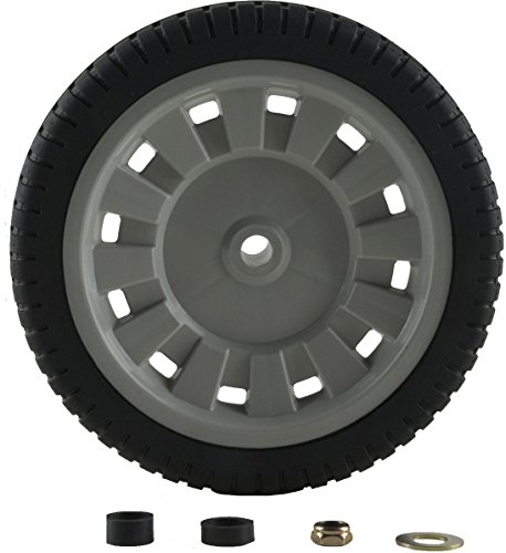 Arnold Universal 8-Inch Lawn Mower Wheel with Adapters ()