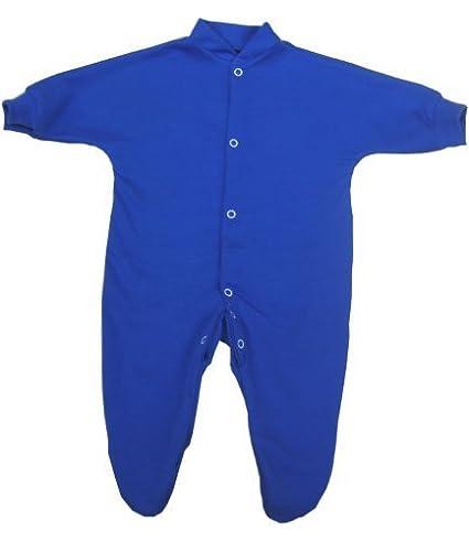 BabywearUK Royal blue sleepsuit 3//6 months British made