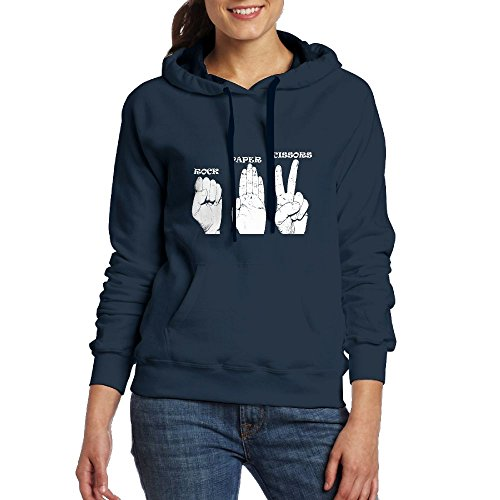 Cheap HDAKWP Rock Paper Scissors Hand Sketch Cool Women Sweatshirts Sweatshirts 90s