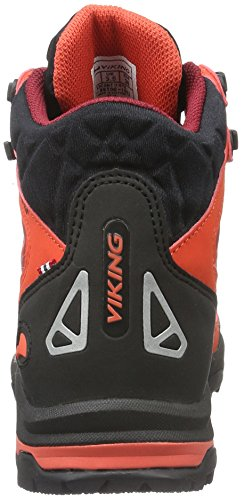Rot Rojo Red Ascent 1052 Dark Viking de Unisex II Adulto Zapatillas Senderismo Red 8061nSq0