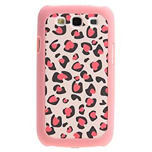 Pink Leopard Pattern 2 in 1 Detachable Hard Case for Samsung Galaxy S3 I9300
