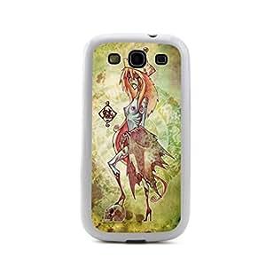 CaseCityLiu - Foxtrel Chinese Zombie Myth 3D Design White Bumper Plastic+TPU Case Cover for Samsung Galaxy S3 SIII I9300