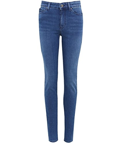 Armani Jeans Mujeres jeans Slim fit dahlia Azul Azul