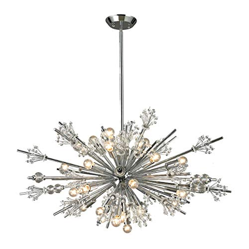 Twenty Four Light Chandelier - Elk Lighting 11752/24 Starburst Collection 24 Light Chandelier, 36
