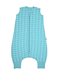 Slumbersafe Summer Sleeping Bag With Feet 1.0 Tog Simply Teal Stars 12-18 months