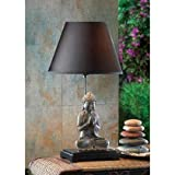 Table Lamps Shade Buddha Home Decor College Student Bedroom Desk Lamp Indoor Reading Lamp Contemporary Tiffany Mainstays