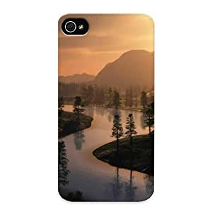 New Snap-on Standinmyside Skin Case Cover Compatible With Iphone 4/4s- Trees