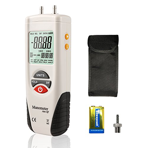 digital air pressure meter - 8