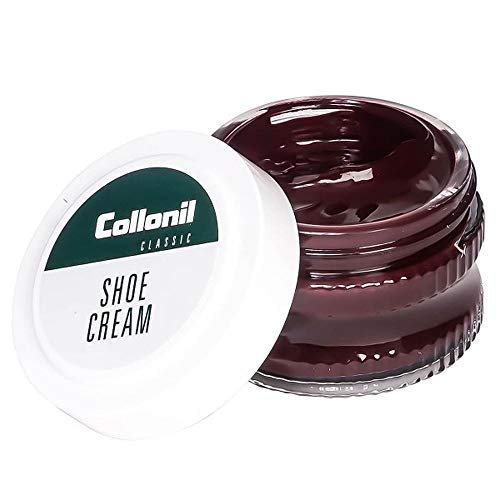 Collonil Mahogany Brown Cream Polish for smooth leather Shoes Boots Handbags