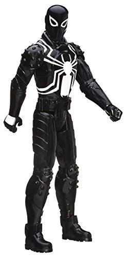 Spiderman 3 Symbiote Costume (Marvel Spider-Man Titan Hero Series Agent Venom 12-Inch Figure)