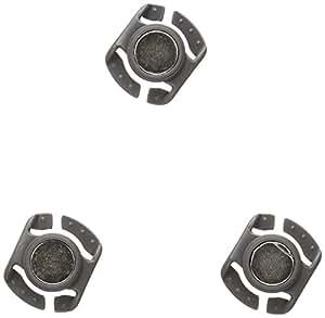Osprey Sternum - Imanes de válvula para botella de hidratación (3 unidades), color gris