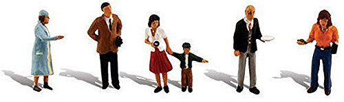 (Woodland Scenics HO Scale Scenic Accents Figures/People Set Going Places)