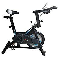 PowerMax Fitness BS-150 Home Use Group Bike/Spin Bike with iPad & Bottle holder