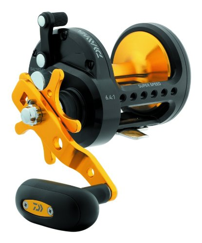st 50 High Speed Black Gold Conventional Saltwater Reel (Daiwa Saltist Saltwater Conventional Reels)