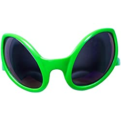 Green Alien Sunglasses Kids Party Favors (12 Pack)