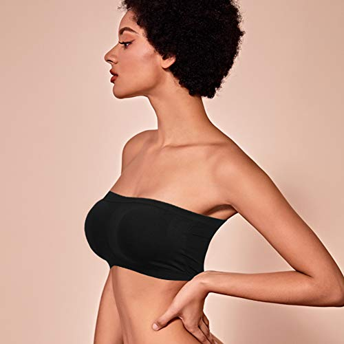 Buy seamless strapless bra plus