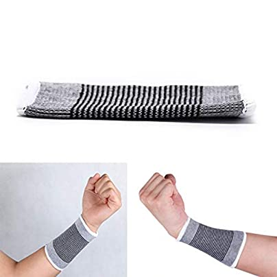 Unisex Weave Wristband Sport Sweatband Arm Band Basketball Tennis Gym Wrist Support Tennis Gym Yoga Guard Protector Estimated Price £8.39 -