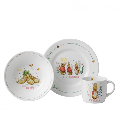 Wedgwood Peter Rabbit Girl's 3-Piece Set ()