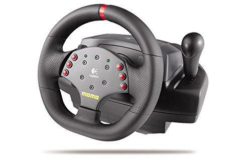 Logitech 3 MOMO Force Feedback Racing Wheel Review
