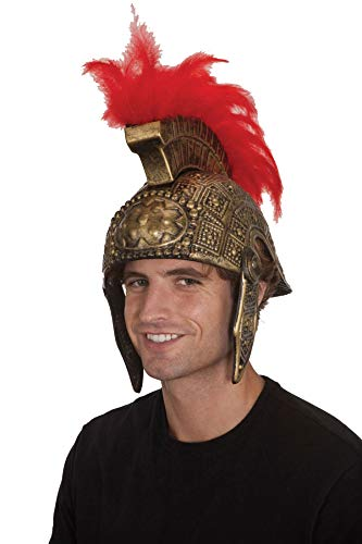 Gold Roman Soldier Helmet Adult Size Theater Dress Up