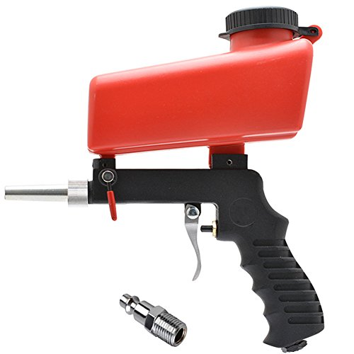 Jewboer Portable Air Sand Blaster Speed Blasting Nozzle Gun Tube Rust Remove by Jewboer