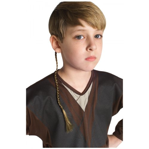 Anakin Skywalker Jedi Apprentice Braid Costume Accessory -
