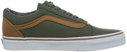 Vans U Old Skool, Chaussures de Sport Mixte Adulte Beetle/washed