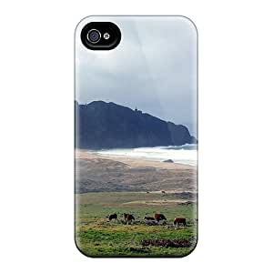 New Big Sur Lighthouse Tpu Case Cover, Anti-scratch NiC2067wQpX Phone Case For Iphone 4/4s