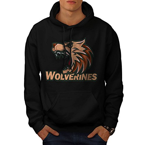 Wolverine Sport Team Basketball Men S Hoodie | Wellcoda (Evil Bunny Costume)