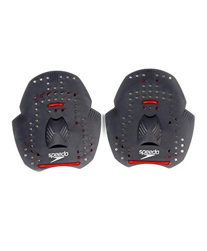 Speedo Erwachsene Accessoires Power Paddle, Red/Grey, M, 8-027610006M