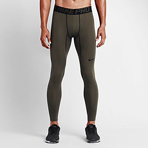 Nike Men's Pro Warm Compression Tights, Large