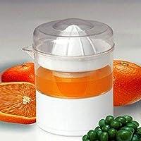 Jullyelegant HQS-F006 Exprimidor eléctrico casero Naranja Limón Uvas Exprimidor de sandía Mini Exprimidor eléctrico doméstico portátil - Blanco