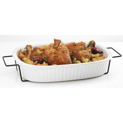 Rectangular 2 qt. Baking Dish with Rack