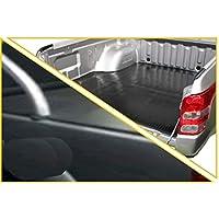 Nissan Navara NP300 D23 Clip On Soft Cover Tonneau & Rubber Ute Mat Combo