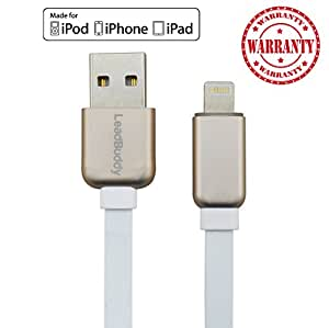 iPhone 5 Charger Cable ,Cable Lightning Charge Cord - 5, 5C, 5S, 6, 6S, 6 Plus, 6S , 7 - LeadBuddy Pro