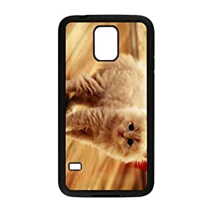 Cute Cat Hight Quality Plastic Case for Samsung Galaxy S5
