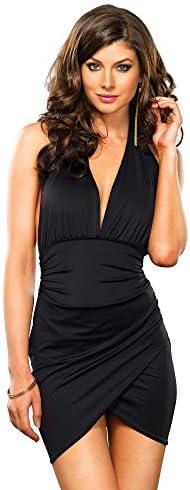 Leg Avenue Monica Clubwear Black