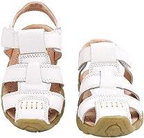 Gaatpot Enfant Sandales et Nu-Pieds en Cuir Bébé Chaussure Sandales Bout Fermé Chaussure d'été pour Garçon Fille 22-34.5