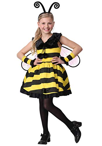 Girl's Deluxe Bumble Bee Costume Large -