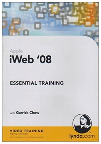 iWeb '08 Essential Training: Garrick Chow: 9781596713987: Amazon com
