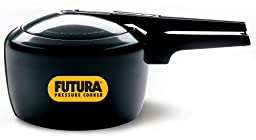 Futura by Hawkins Hard Anodized 3.0 Litre Pressure Cooker from Hawkins