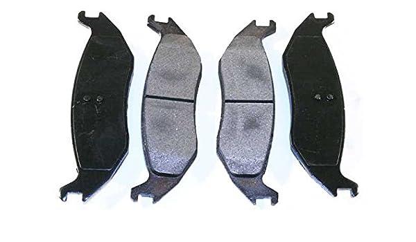 Prime Choice Auto Parts SCD698 Rear Ceramic Brake Pad Set