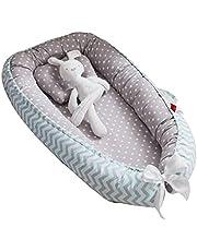 Eaarliyam Baby Recliner Pod Portable Detachable Breathable Comfortable Baby Cushion Pod with Hidden Zipper Pillow Newborn Recliner