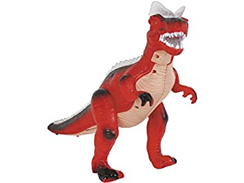 DQTOYS Figura Dinosaurio Andador Rojo 36 CM.: Amazon.es: Juguetes ...