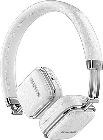 d86c0170418 Harman/Kardon Soho Wireless NFC Bluetooth Slim Foldable On-Ear Leather  Headphones and Carry