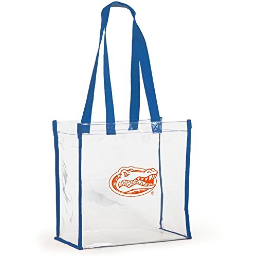 Desden Open Top Stadium Tote, Clear with Long Handles for Florida Gators Fans.