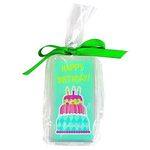 Clearly Fun Happy Birthday Soap, 6 Ounce