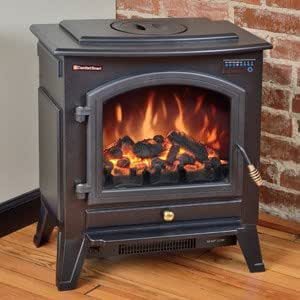 Amazon.com: Comfort Smart Vermont Black Electric Fireplace